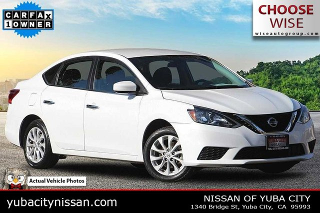 2018 Nissan Sentra SV SV CVT Regular Unleaded I-4 1.8 L/110 [17]