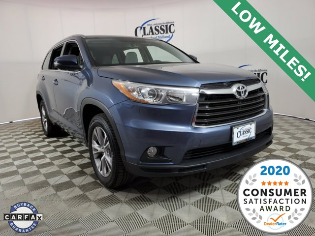 Used 2015 Toyota Highlander in Midland, TX