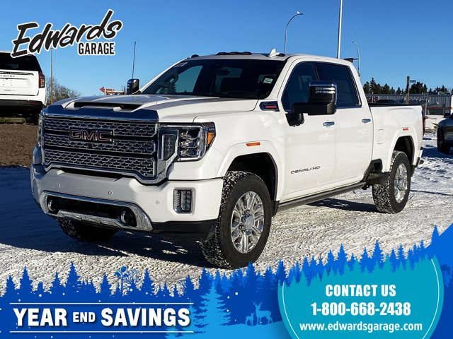 2021 GMC Sierra 3500HD Denali Diesel Htd 1st/2nd Row Sunroof 4WD Crew Cab 159″ Denali Turbocharged Diesel V8 6.6L/ [7]