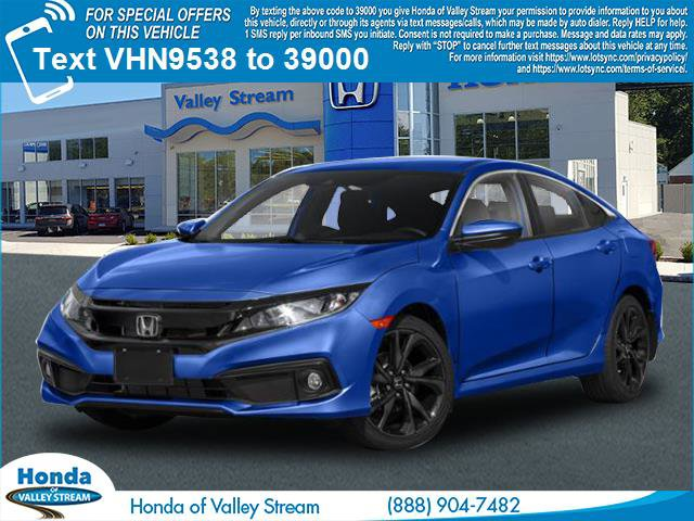 2020 Honda Civic Sedan Sport Sport CVT Regular Unleaded I-4 2.0 L/122 [16]