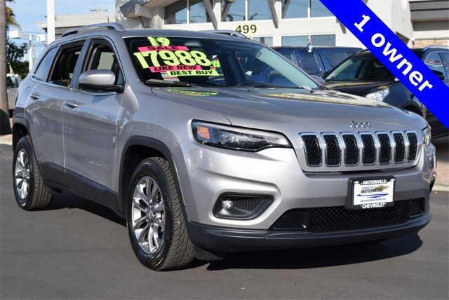 Used 2019 Jeep Cherokee in Watsonville, CA