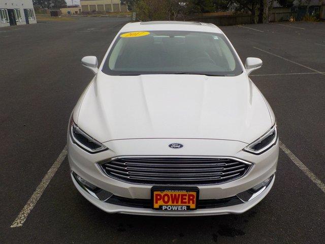 New 2017 Ford Fusion Titanium AWD