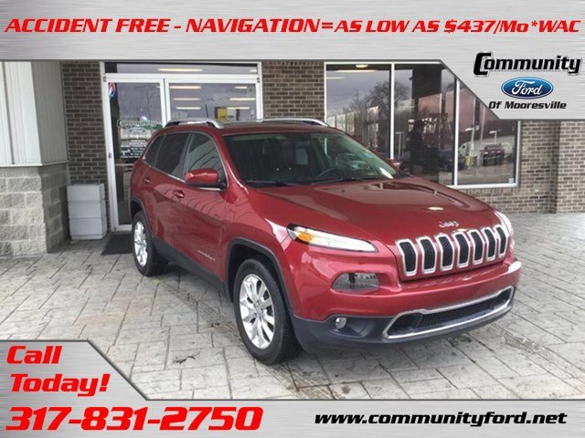 Used 2016 Jeep Cherokee in Bloomington, IN