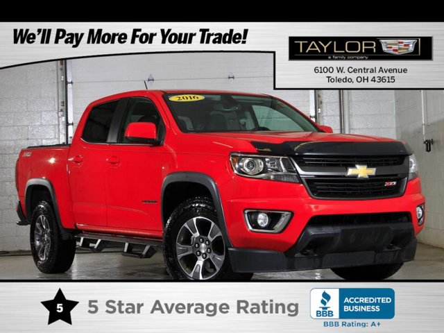 2016 Chevrolet Colorado 4WD Z71 TRAILERING PACKAGE  HEAVY-DUTY  includes trailer hitch and 7-pin co