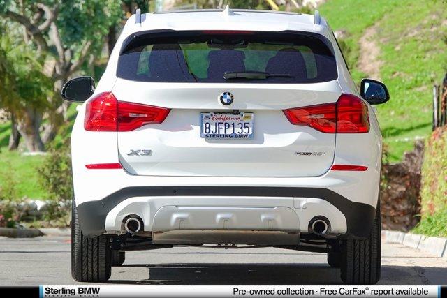 2019 BMW X3 sDrive30i Sports Activity Vehicle