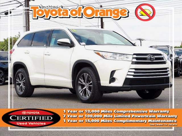 2018 Toyota Highlander LE LE I4 FWD Regular Unleaded I-4 2.7 L/163 [16]