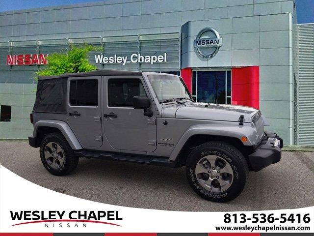 Used 2018 Jeep Wrangler JK Unlimited in Wesley Chapel, FL
