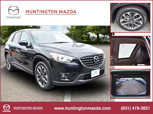 2016 Mazda CX-5 Grand Touring BLACK  LEATHER SEAT TRIM WHEEL LOCKS JET BLACK MICA All Wheel Driv