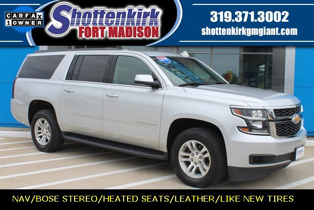 Used 2018 Chevrolet Suburban in Fort Madison, IA