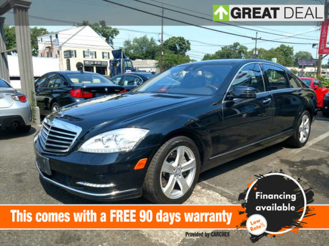 2011 Mercedes S-Class S 550 All Wheel Drive Air Suspension Active Suspension Power Steering 4-W