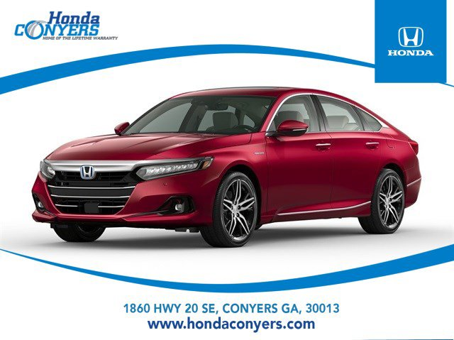 2021 Honda Accord Hybrid Touring Touring Sedan Gas/Electric I-4 2.0 L/122 [1]