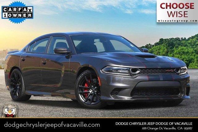 2019 Dodge Charger SRT Hellcat SRT Hellcat RWD Intercooled Supercharger Premium Unleaded V-8 6.2 L/376 [8]