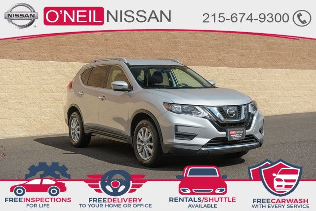 2017 Nissan Rogue SV 2017.5 AWD SV Regular Unleaded I-4 2.5 L/152 [3]