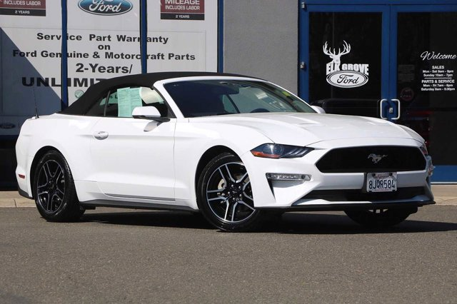 Used 2019 Ford Mustang EcoBoost Premium Convertible 2D