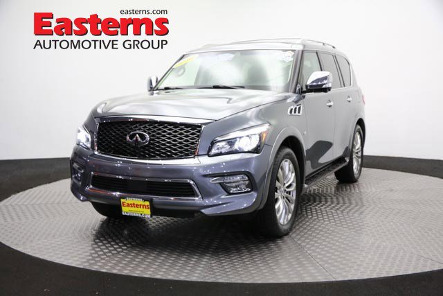 2016 INFINITI QX80 Deluxe Technology Sport Utility