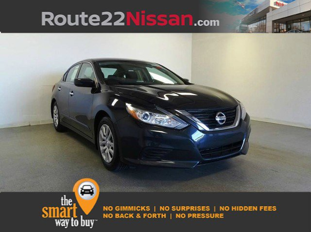 2017 Nissan Altima 2.5 S 2.5 S Sedan Regular Unleaded I-4 2.5 L/152 [6]
