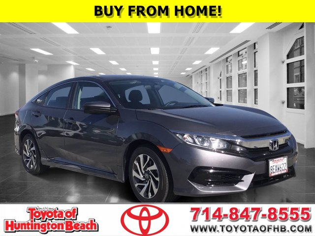 2018 Honda Civic Sedan EX EX CVT Regular Unleaded I-4 2.0 L/122 [7]