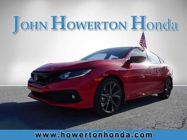 New 2020 Honda Civic Sedan in Beckley, WV