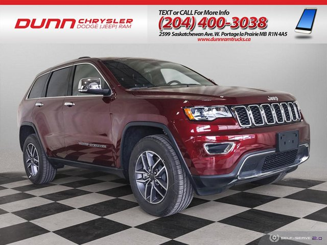 2021 Jeep Grand Cherokee | LIMITED 4x4 | LEATHER BUCKETS | REAR PARK ASSIST | Limited 4x4 Regular Unleaded V-6 3.6 L/220 [0]