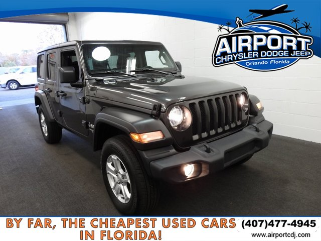 Used 2019 Jeep Wrangler Unlimited in Orlando, FL