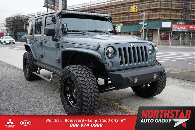 Used 2015 Jeep Wrangler Unlimited in Long Island City, NY