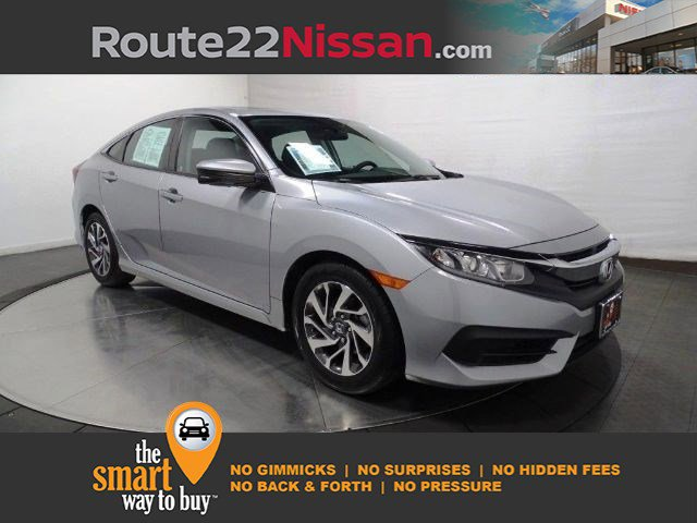 2018 Honda Civic Sedan EX EX CVT Regular Unleaded I-4 2.0 L/122 [3]