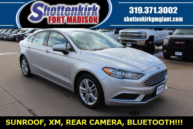 Used 2018 Ford Fusion Hybrid in Fort Madison, IA