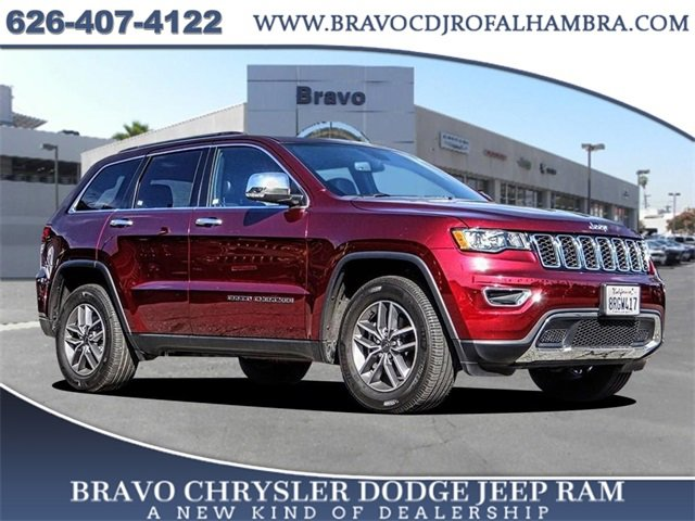 2020 Jeep Grand Cherokee Limited Limited 4x2 Regular Unleaded V-6 3.6 L/220 [5]