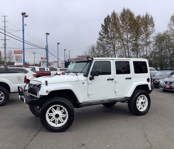Used 2013 Jeep Wrangler Unlimited 4WD 4dr Sahara