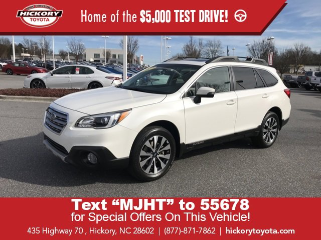 Used 2017 Subaru Outback in Hickory, NC
