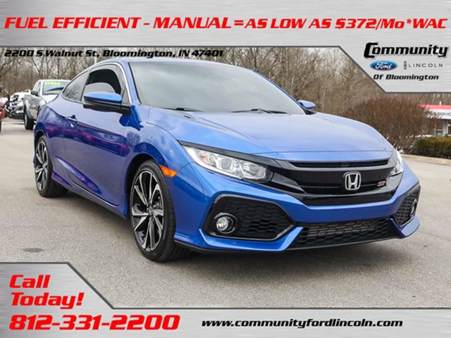 Used 2018 Honda Civic Si Coupe in Bloomington, IN