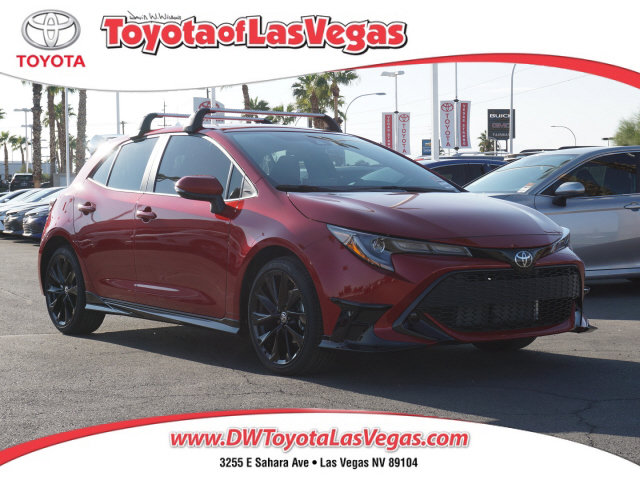 2021 Toyota Corolla Hatchback SE SE CVT Regular Unleaded I-4 2.0 L/121 [8]