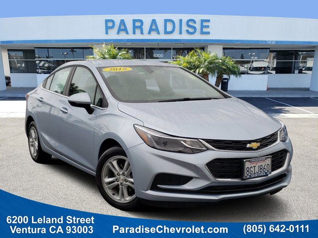 2018 Chevrolet Cruze LT 4dr Sdn 1.4L LT w/1SD Turbocharged Gas I4 1.4L/ [9]