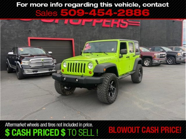 Used 2012 Jeep Wrangler Unlimited 4WD 4dr Rubicon
