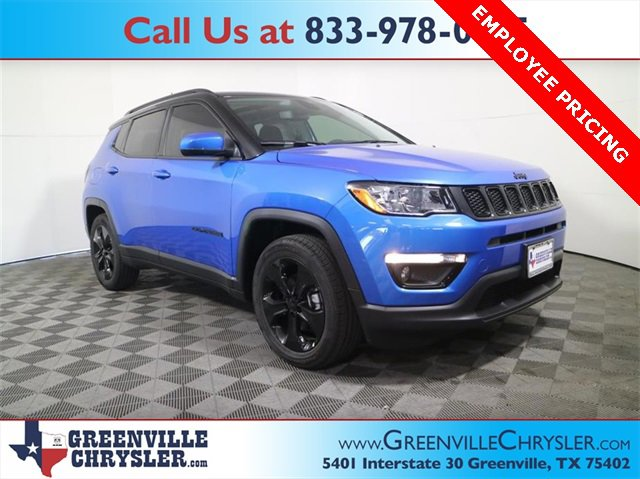 New 2021 Jeep Compass in Greenville, TX