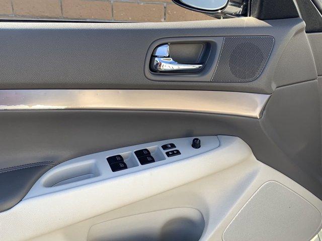 2012 Infiniti G25 Journey 4D Sedan V6 2.5L
