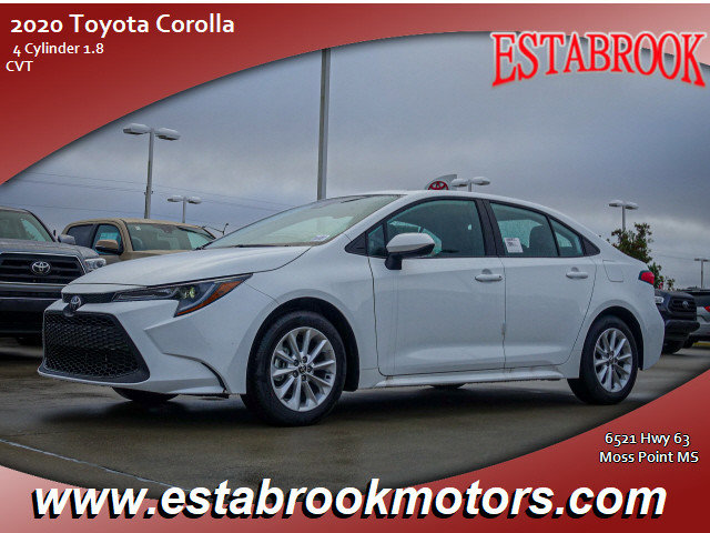 New 2020 Toyota Corolla in Moss Point, MS