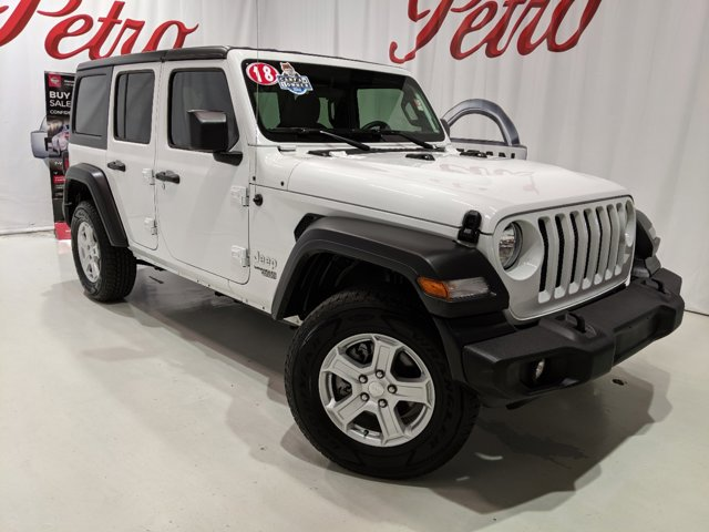 Used 2018 Jeep Wrangler Unlimited in Hattiesburg, MS