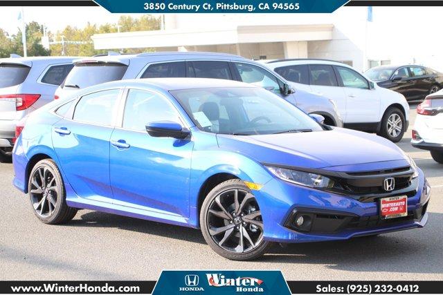 2020 Honda Civic Sedan Sport Sport CVT Regular Unleaded I-4 2.0 L/122 [18]