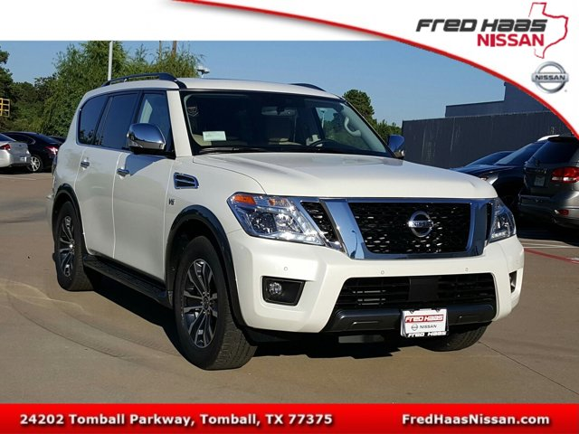 New 2020 Nissan Armada in Tomball, TX