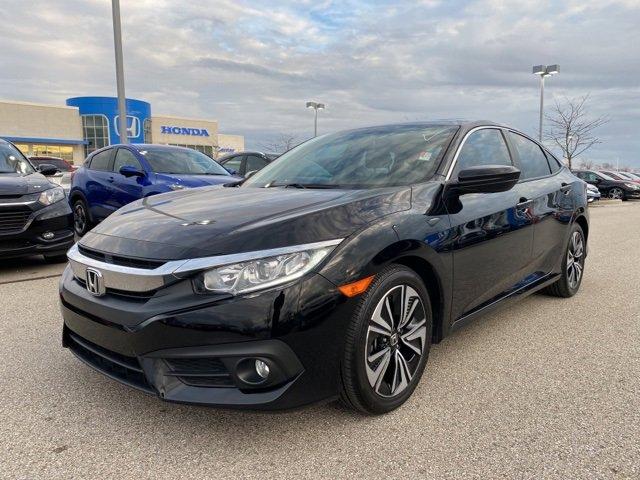 Used 2017 Honda Civic Sedan in Fishers, IN