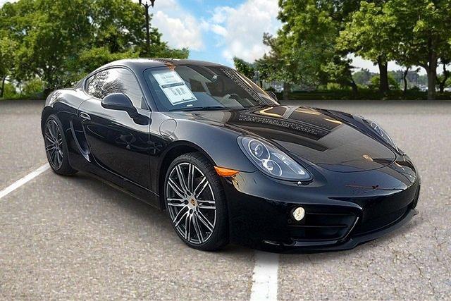 2016 Porsche Cayman Black Edition Rear Wheel Drive Power Steering ABS 4-Wheel Disc Brakes Brake
