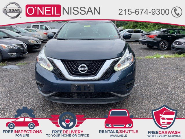 2017 Nissan Murano S 2017.5 AWD S Regular Unleaded V-6 3.5 L/213 [8]