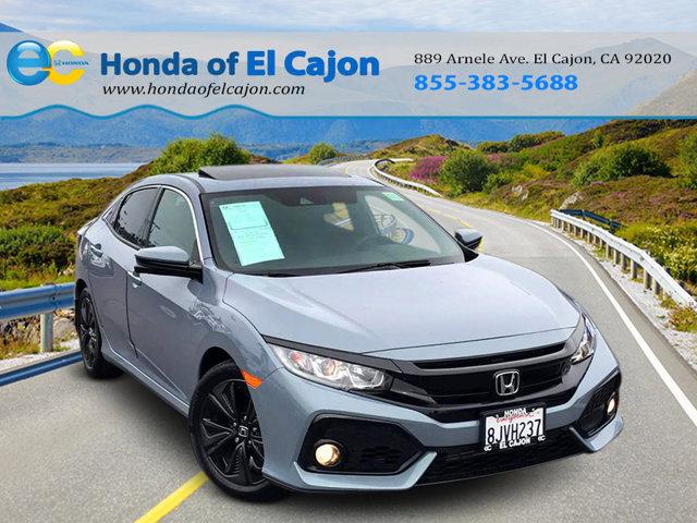 Used 2019 Honda Civic Hatchback in El Cajon, CA