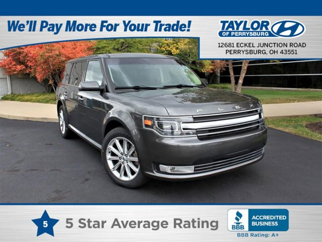 The 2017 Ford Flex Limited photos