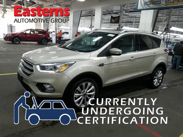 2017 Ford Escape Titanium Technology EcoBoost Sport Utility