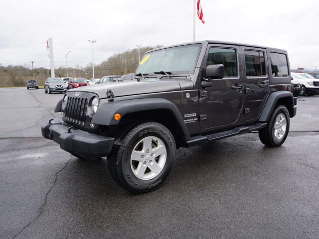 Used 2017 Jeep Wrangler Unlimited in Kingsport, TN