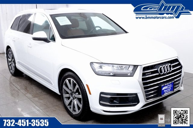 2017 Audi Q7 Prestige Supercharged All Wheel Drive Power Steering ABS 4-Wheel Disc Brakes Brak