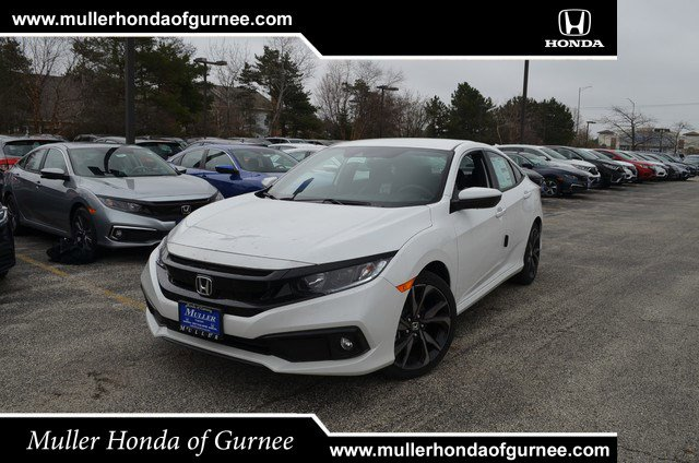 New 2020 Honda Civic Sedan in Gurnee, IL