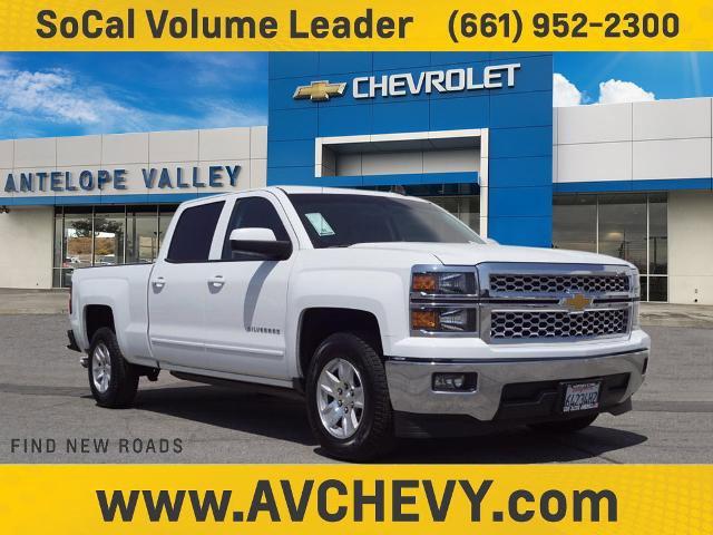 """2015 Chevrolet Silverado 1500 LT 2WD Crew Cab 153.0"""" LT w/1LT Gas V8 5.3L/325 [3]"""